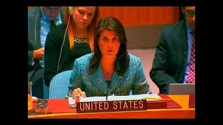 Download UN ambassador Nikki Haley just Said Something that SHOCKED the International Security Council Video