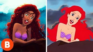 Download What These Disney Characters Were Supposed To Look Like Video