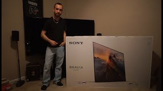 Download Sony Bravia OLED 4K UHD TV Unboxing & Setup (XBR65A1E) Video