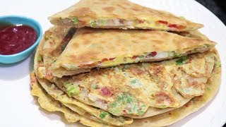 Download Mughlai Egg Paratha Recipe | Crispy and Tasty Paratha Recipe | Breakfast Special Recipe Video