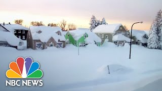 Download Buffalo In State Of Emergency After Massive Snowfall   NBC News Video