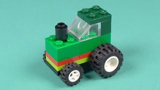 Lego Farm Tractor Building Instructions - Lego Classic 10697 ″How To