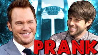Download CHRIS PRATT INTERVIEW PRANK Video