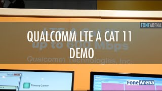 Download Qualcomm LTE A Cat 11 Demo Video