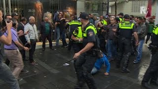 Download Vechtpartijtjes na Koerdische demonstratie Rotterdam Video