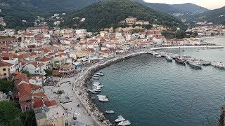 Download Parga Greece Walkaround & Way to beaches Krioneri and Piso Krioneri in the city FULL HD. Summer 2017 Video