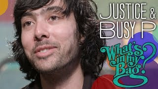 Download Justice and Busy P - What's in My Bag? Video