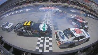 Download NASCAR Xfinity Series 2018. Bristol Motor Speedway. Multi Car Crash Video