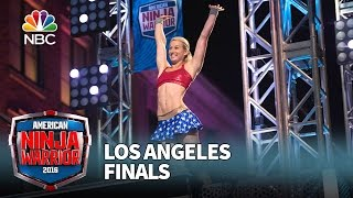 Download Jessie Graff at the Los Angeles Finals - American Ninja Warrior 2016 Video