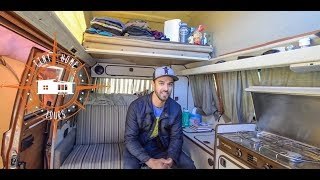 Download Living Full Time In An Off The Grid 1982 VW Van ~ Full Tour ~ Alaskan Tour Guide Video