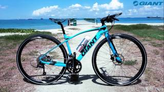 Download 2018 Giant FastRoad SLR2 (Fitness bike review) - XS Video