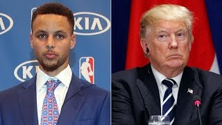 Download Trump Disinvites Steph Curry From White House Video