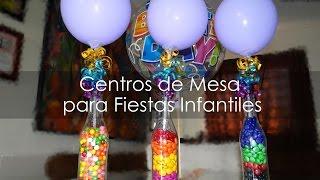Download Centro de Mesa para Fiestas Infantiles - Botellas Recicladas Video