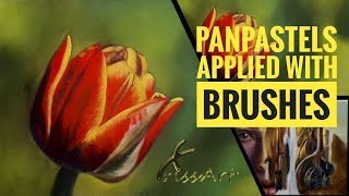 Download PanPastels with Brushes | How to use 2018 Video