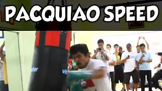 Download Manny Pacquiao Machine Gun Killing the Bag Video