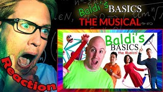 Download BALDI'S BASICS: THE MUSICAL by Random Encounters REACTION! | BALDI IN REAL LIFE! | Video