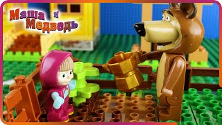Download ♥ Masha and the Bear (Маша и Медведь) - Garden of Ice Cream (Episode 1) Video