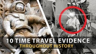 Download 10 Possible EVIDENCE OF TIME TRAVEL Throughout History Video