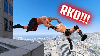 Download GTA 5 WRESTLING LIKE IN WWE #15 (Powerbomb, AA, RKO, and more!) Video