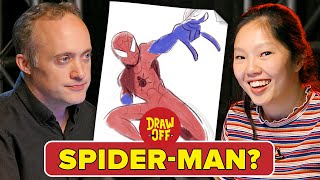 Download Animator Vs. Cartoonist Draw Marvel Characters From Memory Video