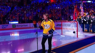 Download Keith Urban sings Star Spangled Banner before Game 3 Video