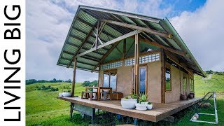 Download A Stunning Small Home Made From Hemp Video