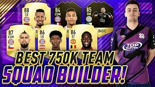 Download BEST 750K TEAM FOR FUT CHAMPIONS! SQUAD BUILDER FIFA 18 ULTIMATE TEAM! Video
