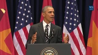Download President Obama Delivers Remarks at the National Convention Center Video