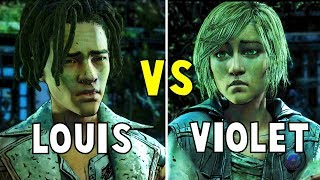 Download Appeal to Louis vs Appeal to Violet All ENDINGS - The Walking Dead The Final Season Video