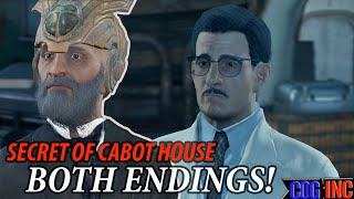 Download Fallout 4 - Secret of Cabot House Both Endings (Freeing and Killing Lorenzo) Lorenzo's Artifact Gun Video