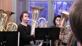 Download 4th mov. from Symphonie Fantastique(H.Berlioz) by Euphonium Tuba ensemble Video