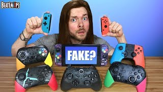 Download The FAKE $20 Nintendo Switch Controllers Video