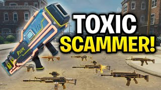 Download Weird Toxic Scammer Scams Himself! (Scammer Get Scammed) Fortnite Save The World Video
