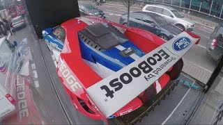 Download Ford GT completes slowest-ever lap of Silverstone Circuit (in London) Video