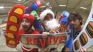 Download TONS OF NEW REVIVE SKATEBOARDS PRODUCT! ReVive Winter 2017 Video