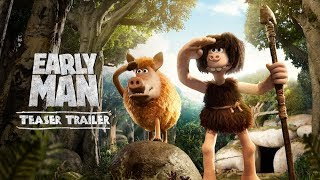 Download Early Man (2018 Movie) Official Teaser Trailer - Eddie Redmayne, Tom Hiddleston, Maisie Williams Video