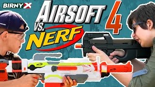 Download Airsoft vs Nerf 4 - Nerf War vs Airsoft Deathmatch - PART 1 Video