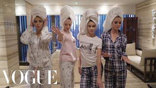 Download Adriana Lima's Victoria's Secret Sleepover | Vogue Video