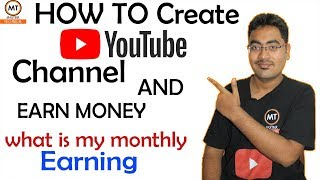 Download How to create a Youtube Channel And Earn Money 2018  Tutorial   Tamil - Master Technical Video