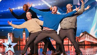 Download Old Men Grooving bust a move, and maybe their backs! | Britain's Got Talent 2015 Video