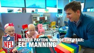 Download Walter Payton Man Of The Year Finalist: Eli Manning   NFL Video