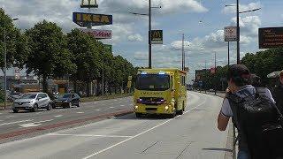 Download 17-07-17 *Micu 13-302* Transplantatieteam Brandweer en veel Ambulances met spoed in Groningen Video