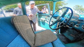Download Surprising Dad for 99th birthday with '55 Ford he never thought would run again Video