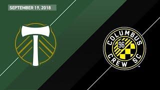 Download HIGHLIGHTS: Portland Timbers vs. Columbus Crew SC | September 19, 2018 Video