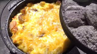 Download Mountain Man Breakfast Scaled Back for Two Dutch Oven Cooking Video