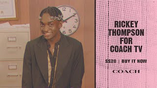 Download Rickey Thompson x Coach TV | SS20 Buy It Now Video
