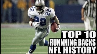 Download Top 10 Running Backs in NFL History Video