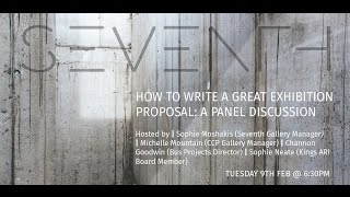Download Seventh Talks: ″How to write a great exhibition proposal″ Video