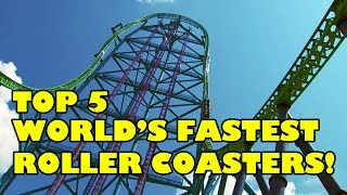 Download Top 5 World's Fastest Roller Coasters 2017 - Front Seat On-Ride POV View! Video