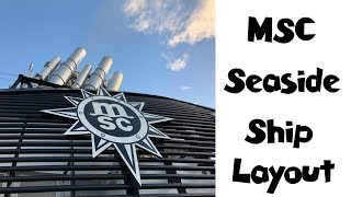Download Exploring the Ship from Top to Bottom + MSC Merchandise Shop | MSC Seaside Cruise Vlog [ep22] Video